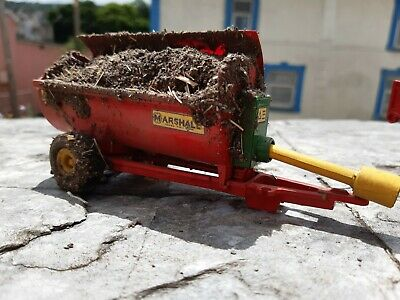 £40 • Buy Rare Britains Conversion Marshall  85 Muck  Spreader  For Tractor Siku