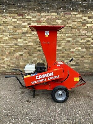 £410.57 • Buy Red Camon C150 Chipper Shredder With Honda Engine, In Good Working Condition