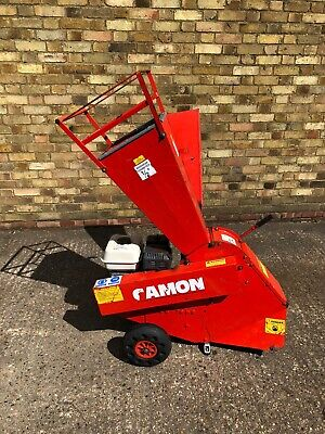 £339 • Buy CAMON 80 CHIPPER SHREDDER, Red, Used But In Good Working Condition