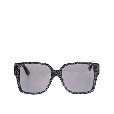 £29 • Buy RRP €380 SAINT LAURENT Square Sunglasses Glossy Glitter Frame Made In Italy