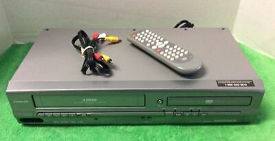 $ CDN108.82 • Buy Magnavox MWD2205 DVD VCR VHS Combo 4-HEAD Recorder W/ Remote AV Cables Tested