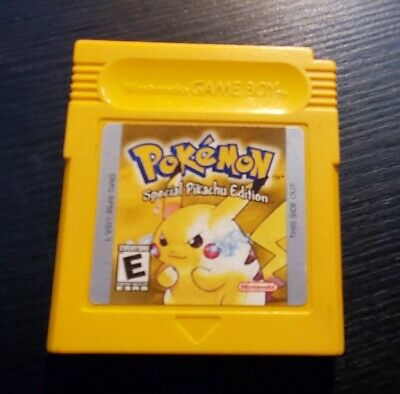 $54.95 • Buy Pokemon Yellow: Special Pikachu Edition (Game Boy, 1999) Battery Works Authentic