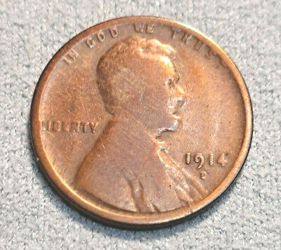 $ CDN95.84 • Buy 1914 D Lincoln Cent Wheat Penny Circulated!