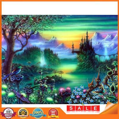 AU10.16 • Buy 5D DIY Full Drill Square Diamond Painting Novelty Forest Cross Stitch Kits A#S