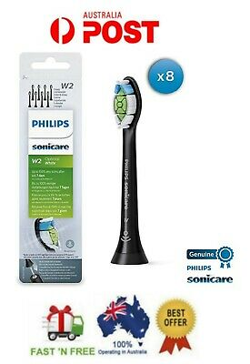 AU94.99 • Buy Philips Sonicare W2 Optimal White Standard Electric Toothbrush Heads 8-Pack