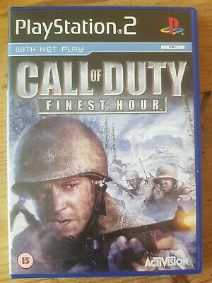 £0.99 • Buy Call Of Duty: Finest Hour (Sony PlayStation 2, 2004) - European Version