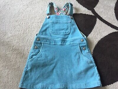AU1.79 • Buy Girls Mini Boden Soft Cord Pinafore Dress Age 4-5 Years