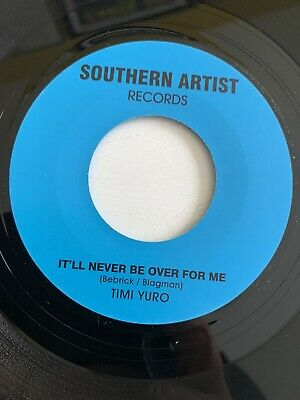 Timi Yuro - It'll Never Be Over For Me - Southern Artist - R&b/northern Soul • 6£