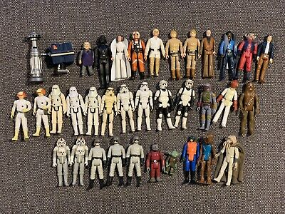$ CDN681.56 • Buy STAR WARS VINTAGE FIGURES JOB LOT BUNDLE FROM THE 70's & 80's 36 Figs