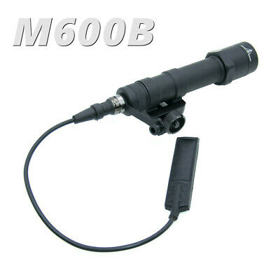 $39.89 • Buy 560 Lumen M600B LED Weapon Light W/ Tail Switch Controller For Rifle Black