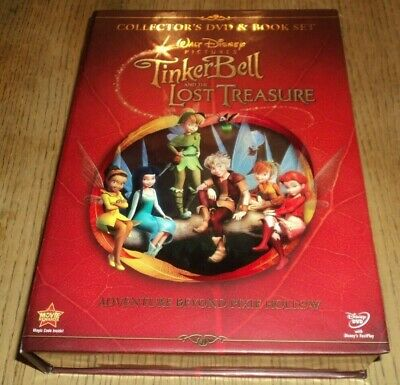 £12.77 • Buy Disney: Tinkerbell And The Lost Treasure (dvd) Collector's Dvd & Book Set