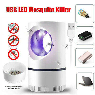 £7.49 • Buy Electric UV LED Light Mosquito Killer Insect Fly-Bug Zapper Trap Catcher Lamp UK
