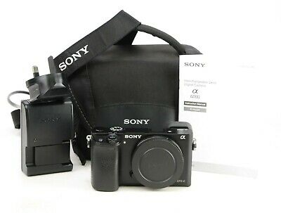 $ CDN511.36 • Buy Sony A6000 DSLR Camera Body Only Generic Battery & Sony Charger +2,436 Shots EXC
