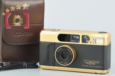 $ CDN1990.65 • Buy CONTAX T2 60 Years Anniversary Edition Gold Point&Shoot 35mm Film Camera