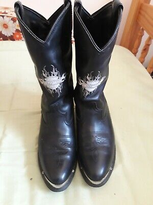 $ CDN111.14 • Buy Harley Davidson Leather Boots Size 9.5