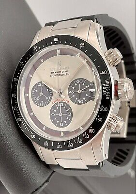 $ CDN1444.99 • Buy Steinhart Ocean One Vintage Chronograph Panda 42mm Swiss Automatic Paul Newman