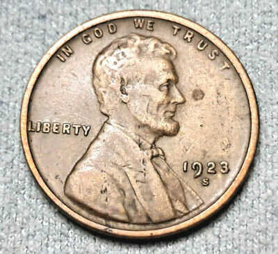 $ CDN1.20 • Buy 1923 S Lincoln Cent Circulated Wheat Penny!