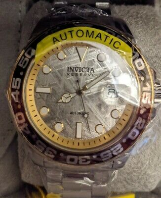 $ CDN240.63 • Buy Invicta Reserve Meteorite Men's Watch Automatic 34202 46mm