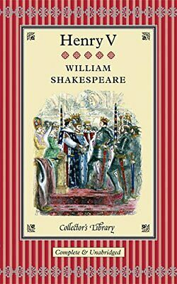 £4.99 • Buy King Henry V (Collectors Library) By Shakespeare, William Hardback Book The
