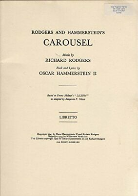 £3.29 • Buy Rodgers And Hammerstein's 'Carousel' (Libretto) By Richard Rodgers (Music), Osca