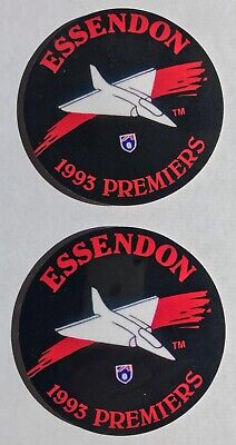 AU22.50 • Buy Two Essendon Bombers 1993 Premiers AFL Coasters - Autographed