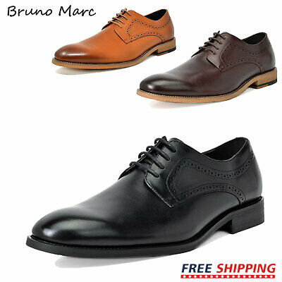 $18.99 • Buy Bruno Marc Mens Formal Dress Shoes Brogue Oxford Shoes Wedding Shoes Size 6.5-13