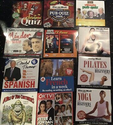 £3.50 • Buy A Selection Of Promotional DVD's Learn Spanish / French Pilates Yoga  Pub Quiz