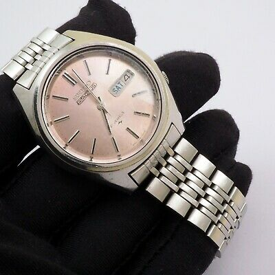 $ CDN96.78 • Buy Vintage 1975's Seiko 5 Actus Silver Dial Ref.7019-7060 For Parts/Repair