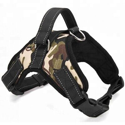 £7.49 • Buy No Pull Dog  Harness Strong Adjustable Reflective Padded Safety PuppyVest MEDIUM