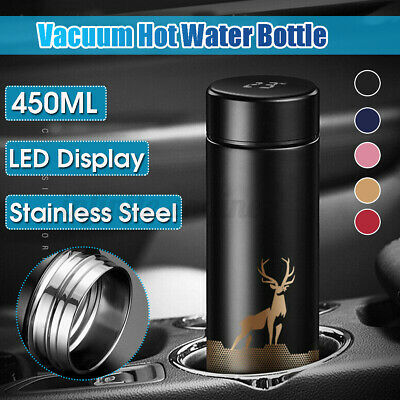 AU16.99 • Buy LED Touch Smart Temperature Display Vacuum Cup Thermos Bottle Insulated Flask❤️
