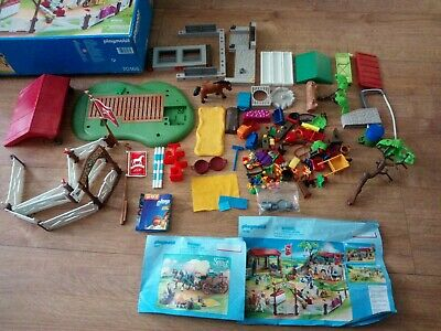£29.99 • Buy Playmobil 70166 Country Pony Farm Horse Riding School Equestrian - Incomplete