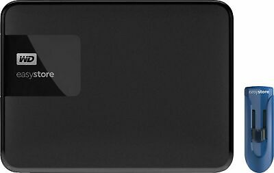 AU83.67 • Buy WD Easystore 4TB External USB 3.0 Portable HDD + 32GB Flash Drive - New Opened