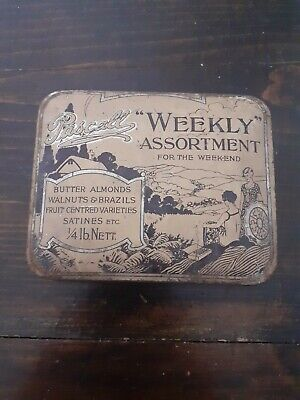 Vintage Pascall Weekly Assortment Sweet Tin • 1.80£