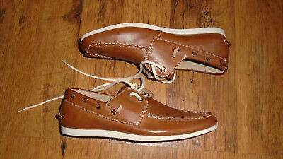 £16.99 • Buy Madden Tan Leather Deck Boat Shoes Size 11 Great Condition