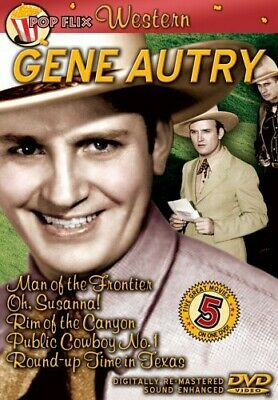 £5.99 • Buy Gene Autry: 5 Movies 1 [DVD] [2006] [Reg DVD Incredible Value And Free Shipping!