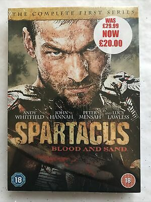 £3.99 • Buy Spartacus - Blood And Sand: Series 1 DVD (2011) Andy Whitfield Cert 18 4 Discs