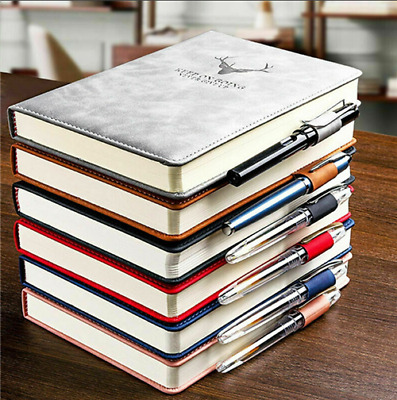 £14.59 • Buy 360 Pages A5 B5 PU Leather Cover Travel Journal Notebook Lined Paper Diary Gift