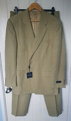 £119.99 • Buy New Canali Linen And Silk Summer Suit 44 R UK 54 EU STUNNING