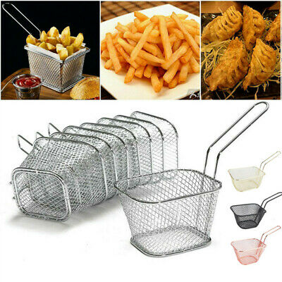 £10.79 • Buy Snacks Chip Food Serving Baskets French Fries Crisps Dish Party Restaurant Style