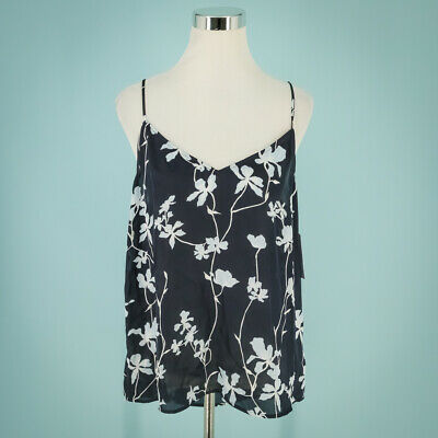 $ CDN47.30 • Buy Equipment Size Extra Large XL Tank Top Layla Camisole V Neck Sleeveless Floral