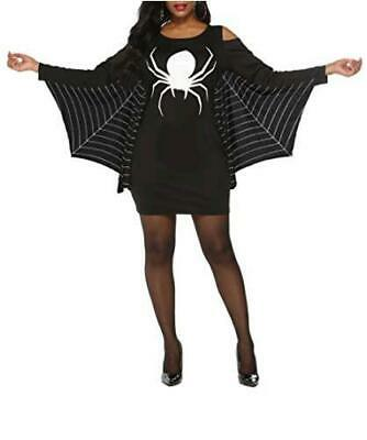 $ CDN14.76 • Buy Grace's Secret Womens Halloween Costumes Plus Size Womens, Black, Size 3X-Large