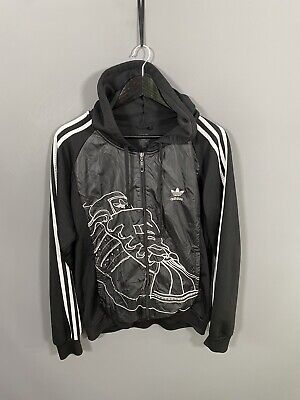 £49.99 • Buy ADIDAS FIREBIRD Track Top - Size Large - Black - Great Condition - Men's