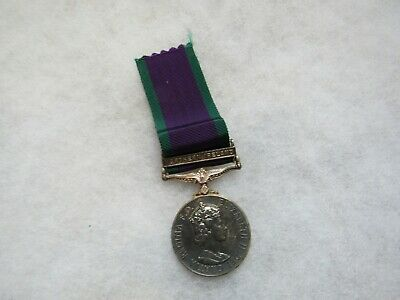 £7.09 • Buy Post WWII British Northern Ireland Campaign Service Medal Named On Rim To CP