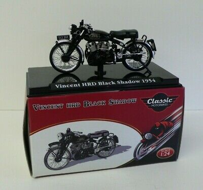£3.50 • Buy Vincent HRD Black Shadow 1/24 Diecast Motorcycle By Atlas Editions