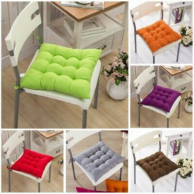 AU13.72 • Buy Soft Patio Pillow For Dining Room  Office Tie On Chair Cushion Seat Pad Durable