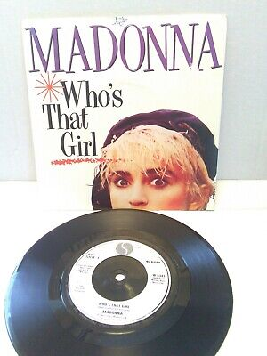 "£3.75 • Buy Madonna - Who's That Girl 7"" Vinyl Single Fully Play Tested Exc"