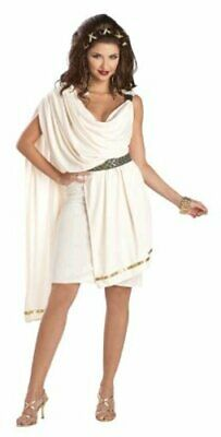 $ CDN12.12 • Buy California Costumes Women's Deluxe Classic Toga Tunic, Cream,, Cream, Size 10.0