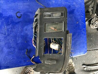 AU81 • Buy Ford Falcon Xa Xb Xc Coupe Hardtop Gt Gs Dash Clock & Head Light Switch Section