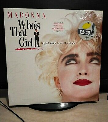 £4.99 • Buy Madonna Who's That Girl Vinyl Soundtrack 1987 First Press Mint Still In Shrink