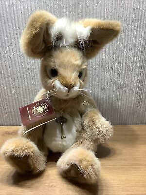 £208.21 • Buy Charlie Bear Plush Collectable Soft Toy Rare Retired Original Tag Rabbit Roscoe